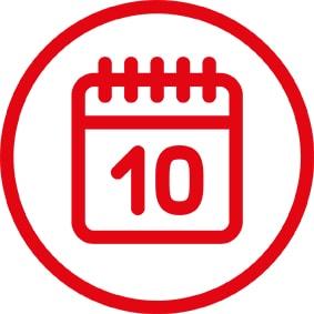 19 % di sconto ogni 10 del mese