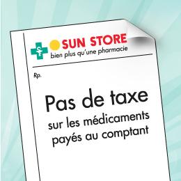 Pas de taxe