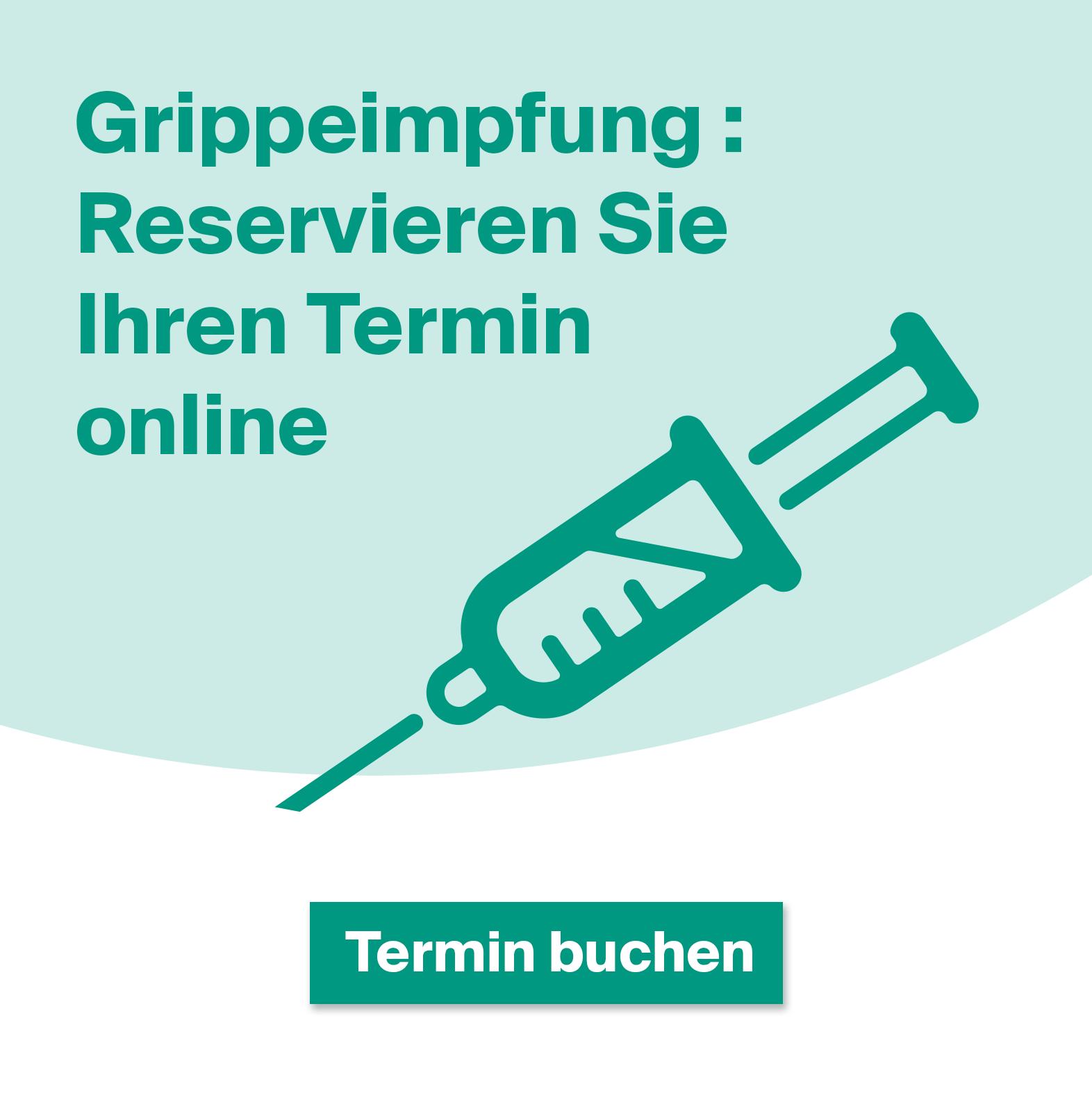 Grippeimpfung online buchen