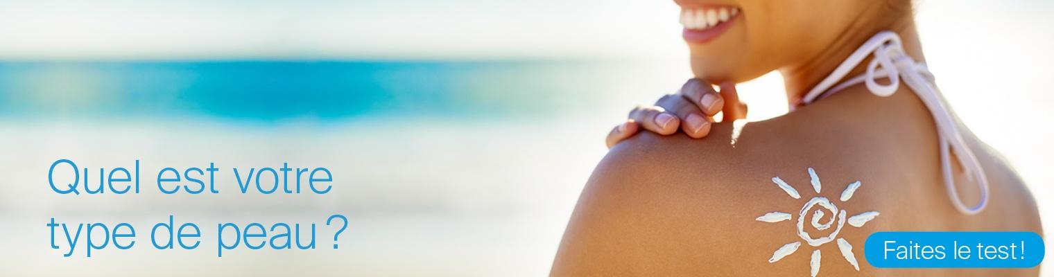 Sonnenschutz Hauttyp-Test
